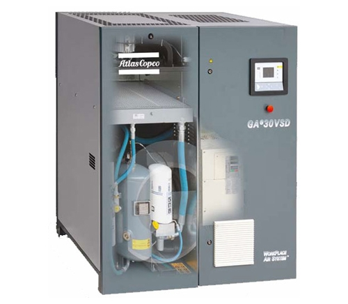 GAe18-30VSD injection screw compressor